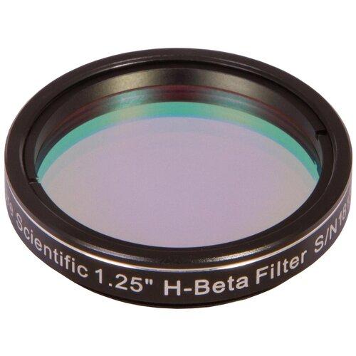 """Фото - Фильтр Explore Scientific H-Beta, 1,25 (73775) черный светофильтр поляризационный переменный explore scientific 2"""""""