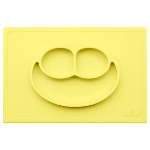 Купить Тарелка EZPZ Happy mat, lemon, Посуда