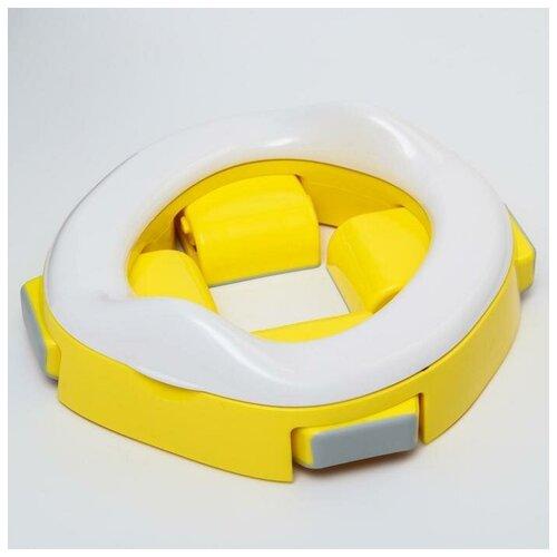 Roxy-kids Дорожный горшок HandyPotty в фирменной сумке, цвет желтый