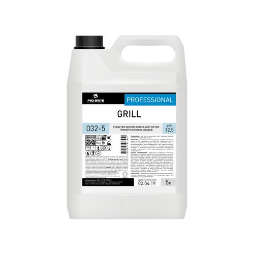 Средство эконом-класса для чистки грилей и духовых шкафов, 5 литров, GRILL, PRO-BRITE