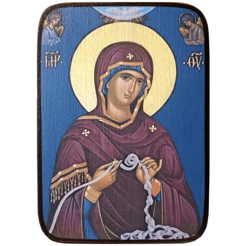 Икона Развязывающая узлы Божией Матери, размер 19 х 27 см