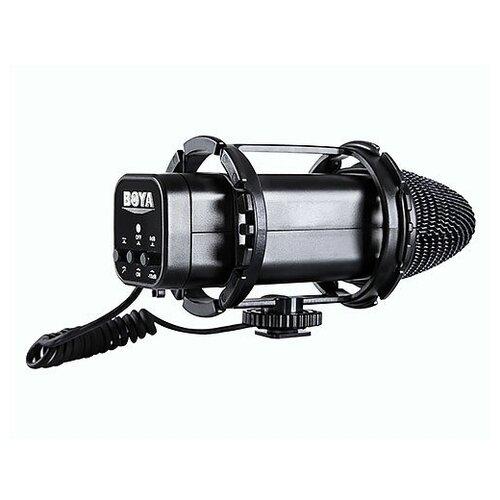 Микрофон X/Y конденсаторный BOYA BY-V02 стерео (40Гц-20кГц, 33дБ)