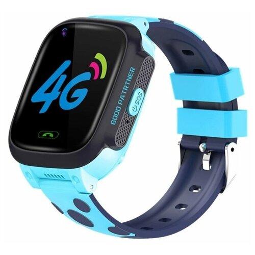 Часы детские Smart Baby Watch Y-95 4G, видеозвонок, синие часы smart baby watch q11 синие