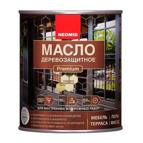 Масло деревозащитное с натуральным воском Neomid Premium (2 л) палисандр