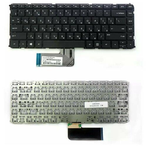Клавиатура для ноутбука HP Envy 4-1000, 4-1100, 6-1000 Series. Плоский Enter. Черная, без рамки. PN: MP-11M73SU6698.
