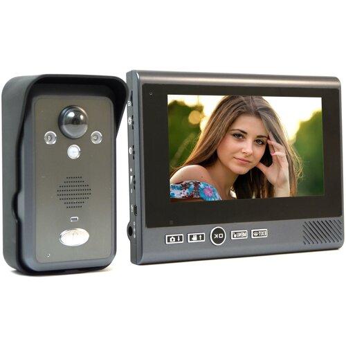 Домофон Настольный REC KiVOS 7 (1плюс1) - wifi видеодомофон, беспроводной домофон для частного дома - домофон в квартиру подарочная упаковка