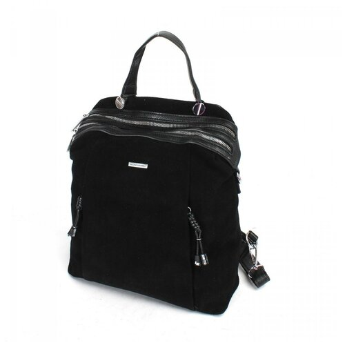 Женский рюкзак экокожа(искусственная кожа) + натуральная замша Velina Fabbiano