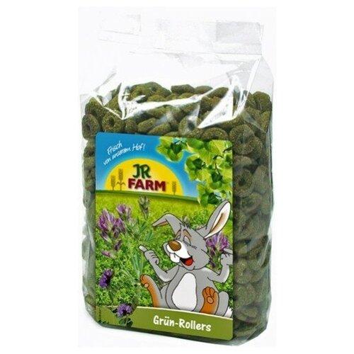 Лакомство для грызунов JR Farm Зеленые колечки, 500 г jr farm 04886 зеленые колечки 500г