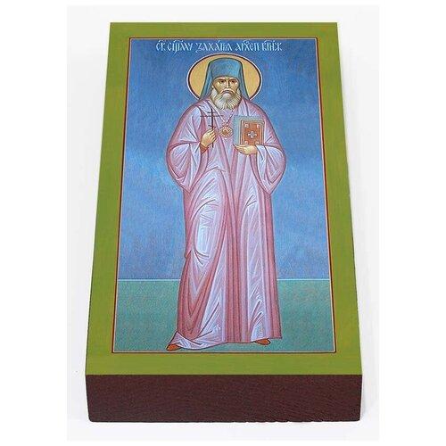 Священномученик Захария Воронежский, Лобов, икона на доске 7*13 см