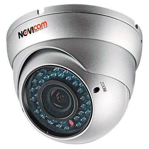 AHD видеокамера NOVIcam AC18W 720р F2.8-12 купольная всепогодная , ИК,мегапиксельный вариообъектив