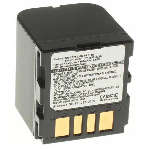 Аккумуляторная батарея iBatt 1500mAh для JVC, Jvc, JVC BN-VF733U