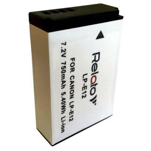 беззеркальная камера canon eos m50 Аккумулятор Relato LP-E12 для Canon EOS 100D/ EOS M / EOS M10/ M200/ M50