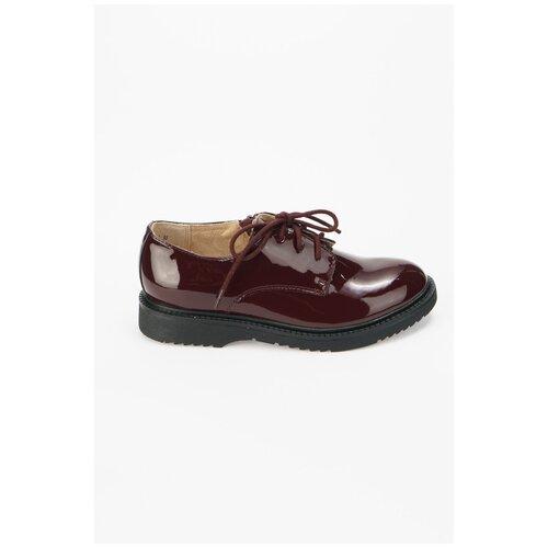 Ботинки KEDDO размер 35, бордовый