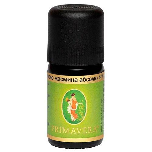 Эфирное масло ЖАСМИНА АБСОЛЮ 4% Primavera Life 5 мл