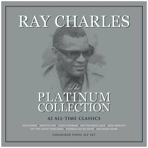 Фото - Виниловая пластинка Charles Ray. The Platinum Collection. White (3 LP) виниловая пластинка davies ray americana barcode 0889853871018