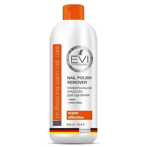 Средство для снятия лака и гель-лака EVI professional 500мл