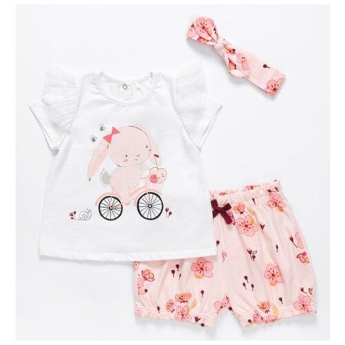 Комплект одежды artie размер 68, белый