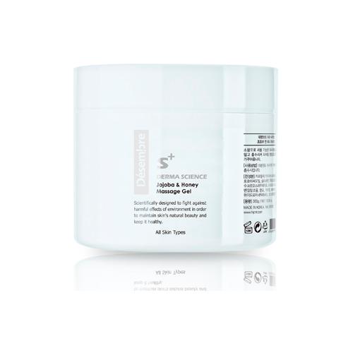 Desembre Derma Science Jojoba & Honey Massage gel Массажный регенерирующий гель для лица Жожоба и Мёд, 300 г