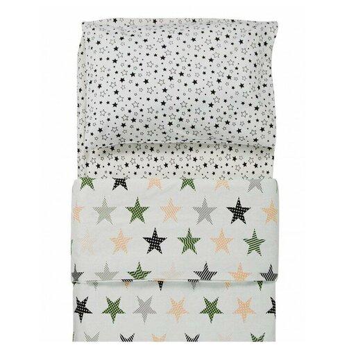 Фото - Постельное белье Forest Rock Star (3 предмета) Бежевый постельное белье forest anchor 3 предмета