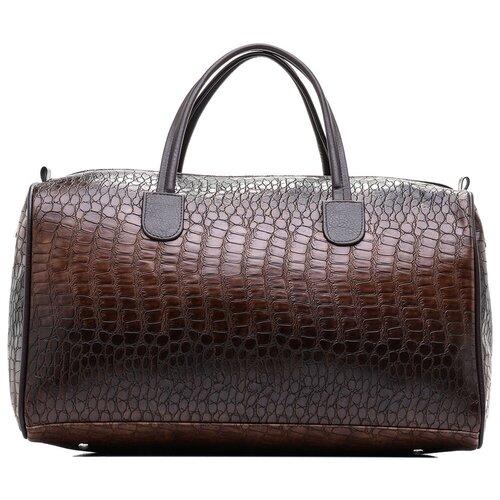 Дорожная сумка-саквояж, AST, коричневый, 100% искусственная кожа