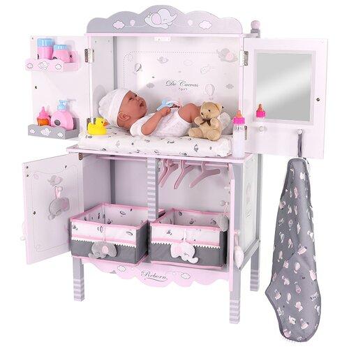 Фото - 54835 Игровой центр для куклы с аксессуарами серии Скай, 90 см кроватки для кукол decuevas с аксессуарами мария 55 см