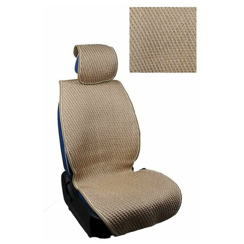 Накидки на сиденья, плетеные, Classic New Plus комплект, Бежевый, CNP014