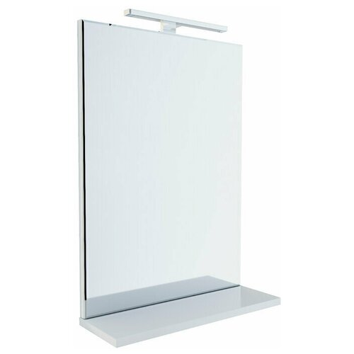 Зеркало, 50 см, белое, New Custo, IDDIS, NCU50W0i98