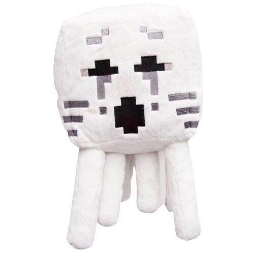 Детская мягкая игрушка ВсеИгрушки / Плюшевый Гаст с черными глазами из игры Майнкрафт(Minecraft) для детей, мальчиков и девочек, 13 см