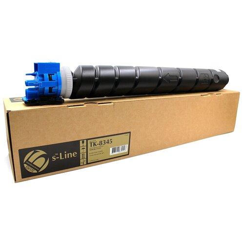 Фото - Тонер-картридж булат s-Line TK-8345C для Kyocera TASKalfa 2552ci (Голубой, 12000 стр.) картридж superfine sf tk8325c для kyocera taskalfa 2551 12000стр голубой