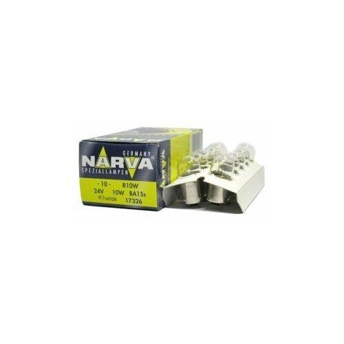 Лампа NARVA 24V R10W габарит задний