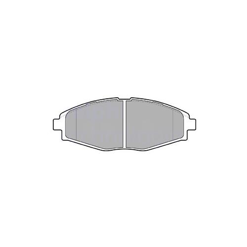DELPHI LP1390 (17696446 / 58296316 / 58296316) комплект тормозных колодок, дисковый тормоз