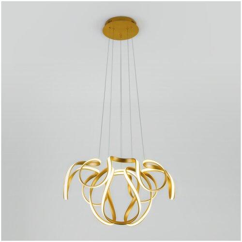 Подвесной светильник Eurosvet 90138/2 золото 96W