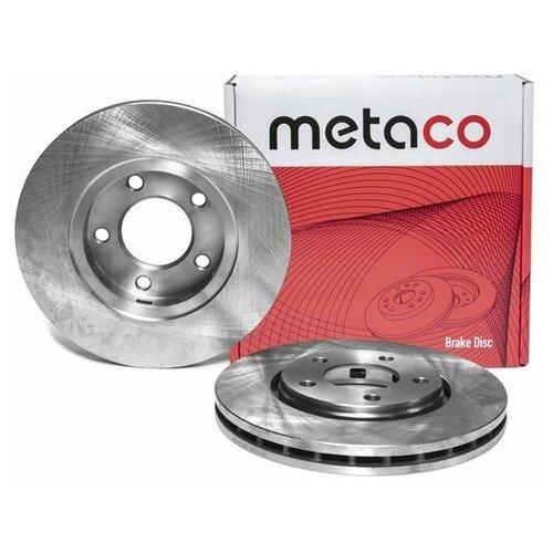 Диск тормозной передний вентилируемый (Производитель: METACO 3050205)