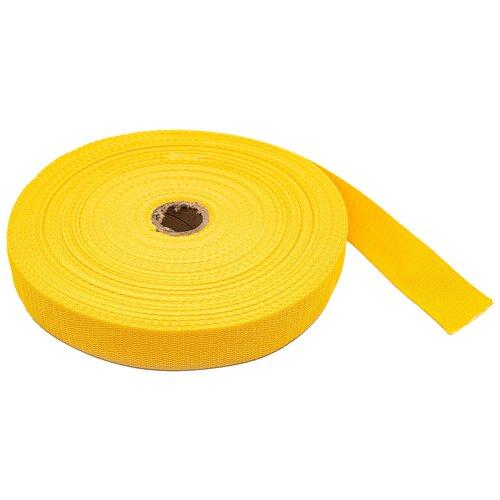 Купить С3075Г17 Стропа-30 рис.8358 30мм*25м, 15, 8 г/м (2 желтый) 25 м, Красная лента, Технические ленты и тесьма