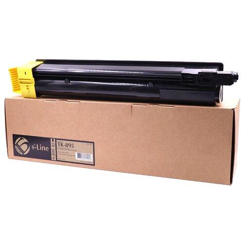 Фото - Тонер-картридж булат s-Line TK-895Y для Kyocera FS-C8020 (Жёлтый, 6000 стр.) тонер картридж булат s line tk 475 для kyocera fs 6025mfp чёрный 15000 стр