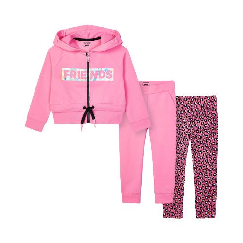 Спортивный костюм Mayoral размер 4(104), розовый
