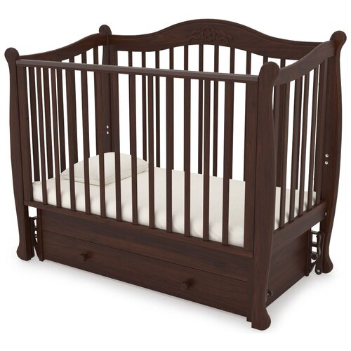 Кровать детская GANDYLYAN К-2002-20м Моника маятник универсальный (орех) gandylyan кроватка gandylyan дашенька маятник универсальный орех
