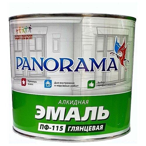 Эмаль ПФ-115 серая (1,9кг;6шт) «Panorama»