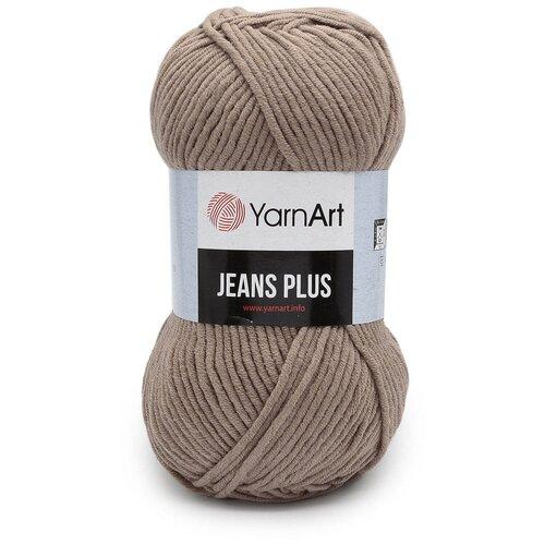Пряжа YarnArt 'Jeans Plus' 100гр 160м (55% хлопок, 45% полиакрил) (71 коричневый), 5 мотков пряжа yarnart пряжа yarnart jeans plus цвет 53 черный