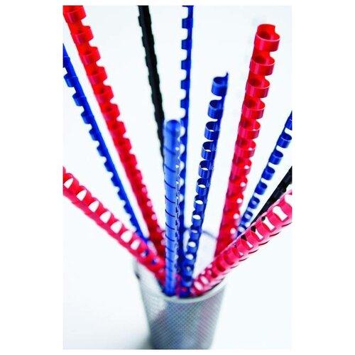 Фото - Пружины для переплета пластиковые Fellowes®, 8 мм., (21-40 листов), 100 шт., 21 кольцо, синие. ложка для мороженного gipfel 21 6 2 8 см