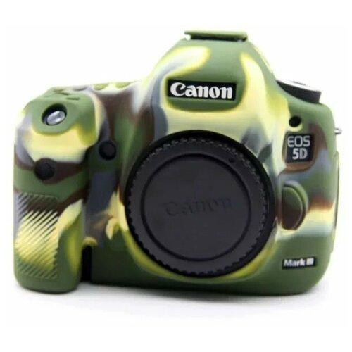 Фото - Силиконовый противоударный чехол MyPads для фотоаппарата Canon EOS 650D / EOS 700D хаки-камуфляж аккумулятор fb lp e8 для canon eos 650d 600d 550d 700d