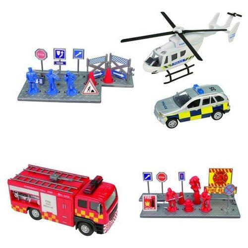 Спасательная команда HTI, серия Roadsterz 1372480 фургон wader спасательная команда 0537 24 см