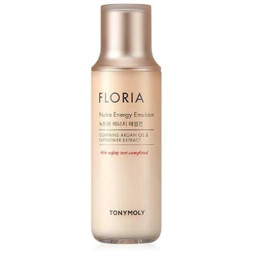 TONY MOLY Увлажняющая эмульсия для лица с аргановым маслом FLORIA Nutra Energy Emulsion, 160 мл.