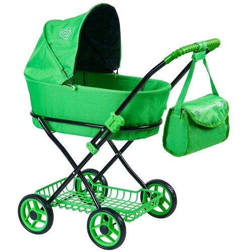 Купить Коляска-люлька Buggy Boom Mixy (8019) зеленый, Коляски для кукол