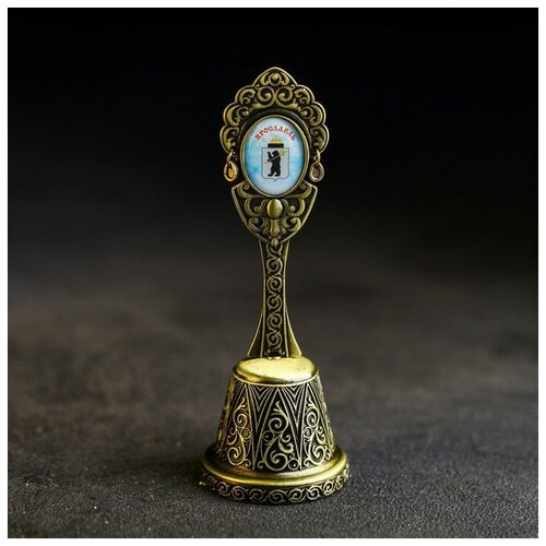Колокольчик в форме кокошника «Ярославль» (Успенский собор), 11,8 х 4,2 см 4174833