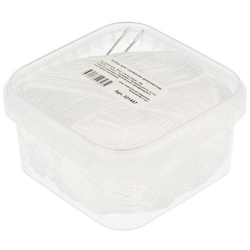 Набор для сшивания документов Attache 3 предмета, белая нить (321457)