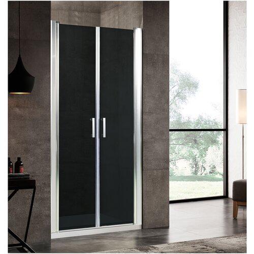 Фото - Душевая дверь River SUEZ 80 ТН 80 душевая панель river 11 черная комбинированное