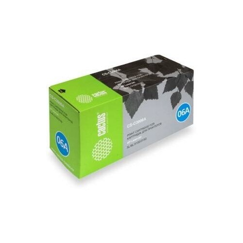 Static Control Картридж Cactus CS-C3906A для для HP LaserJet 5L/ 6L/3100/3150 2500стр Черный