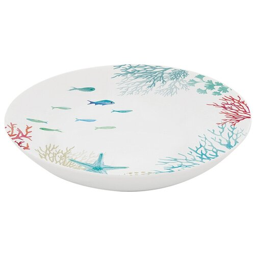 Тарелка суповая Easy Life Море, 20,5 см (EL-R2151_THES)