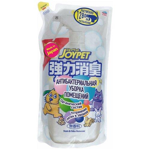 Сменный блок для средства для уборки за животными Japan Premium Pet для антибактериальной уборки в помещении после прогулки питомца и устранения следов и пятен туалета